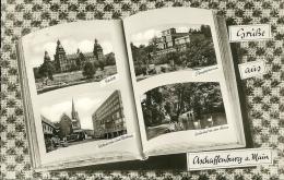 GERMANIA  ASCHAFFENBURG  Gruss Aus..  Multiview - Aschaffenburg