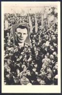 Germany Deutshland Postcard (Berlin, 1961): Space Weltraum: Yuri Gagarin; Cosmonauts Astronauts - Postcards