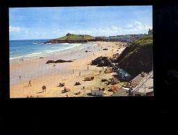 ST IVES Cornwall : Porthmeor Beach - St.Ives
