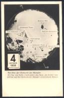 Germany Deutshland Postcard (Berlin, 1961): Space Weltraum: Lunik 3 - Moon Backside Photo Foto Der Rückseite Des Mondes - Ohne Zuordnung
