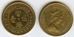 Hong Kong 50 Cents 1980 KM 41 - Hong Kong