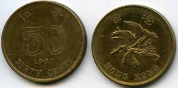 Hong Kong 50 Cents 1997 KM 68 - Hong Kong