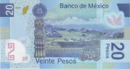 MEXICO P. 122g 20 P 2010 UNC - Mexique