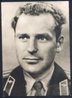 Germany Deutschland Card (Berlin, 1961): Space Weltraum; German Titov - Cosmonaut Astronaut - Transport