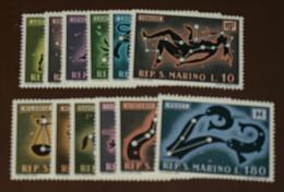 San Marino  Michel Nr:  942 -53  ** MNH Postfrisch (Beispiel Bild) Sternzeichen #4157 - Ungebraucht