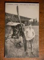 L'aviation à Vichy - Maïcon Aviateur Sur Biplan Gaudron - ....-1914: Precursores