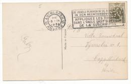 1931? FANTASIEKAART MET PZ 420 VAN ANTWERPEN6 NAAR CAPPELLENBOSCH RECLAMESTEMPEL ZIE SCAN(S) - 1935-1949 Petit Sceau De L'Etat