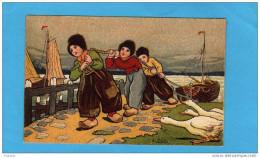 EXIBARD-Remède D´abyssinie-CIGARETTE-soulage Asthme-hollande-illust-j Wells-halage Du Bateau-années 1900 - Other Brands
