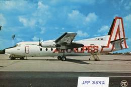 Avion De Ligne AIR ALPES Fockker F-27 - 1946-....: Moderne