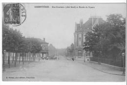 Armentières (59) - Rue Gambetta (cote Nord) Et Entrée Du Square. Bon état, A Circulé. - Armentieres