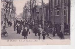 72 / LE MANS / SORTIE DE LA MANUFACTURE DE TABACS /  OUVRIER - Documents