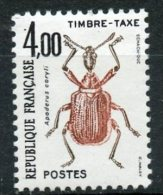France 1982 4f Postage Due Issue #j14 MNH - 1960-.... Mint/hinged