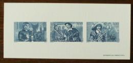 GRAVURE - YT N°3115 à 3117 - HEROS D'AVENTURE - 1997 - Documenten Van De Post