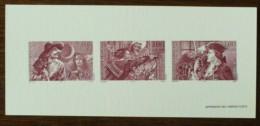 GRAVURE - YT N°3118 à 3120 - HEROS D'AVENTURE - 1997 - Documenten Van De Post