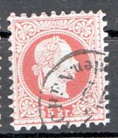 Österr.1867, Ank37 Gestempelt
