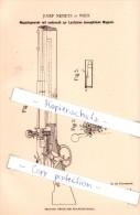 Original Patent   - Josef Nemetz In Wien , 1882 , Magazingewehr Mit Beweglichem Magazin , Gewehr !!! - 1914-18