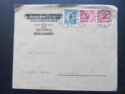 BRIEF SOLINGEN - Brünn Joseph Feist 1924 /// D*14863 - Deutschland