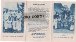 CALENDRIER  1947  ( Oeuvre Pontificale De La Sainte - Enfance  ) - Calendriers