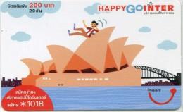 Mobilecard Thailand - Happy - Australien , Australia - Sydney - Opernhaus (1)