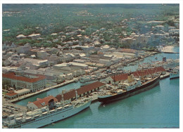 (959) Nassau Wharf And Cruise Ship - Paquebot - Bahamas - Dampfer