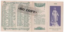 CALENDRIER  1958  ( Les ORPHELINS - APPRENTIS  D'AUTEUIL  ) - Calendriers