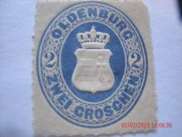 OLDENBURG, SCOTT#24, 2 G ULTRA, MINT OG - Oldenburg