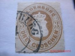 OLDENBURG, SCOTT# 20, 3 G BISTER BROWN, USED - Oldenburg
