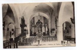 Près Luzech--BELAYE--1928-Intérieur De L'église (monument  Historique) éd Meyzenc-pas Très Courante---Beau Cachet Au Dos - Altri Comuni