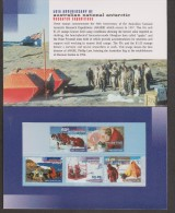 Australian Antarctic Territory 1997 ANARE Research Themes Post Office Pack /  Folder Containing Set 5 MNH - Unclassified