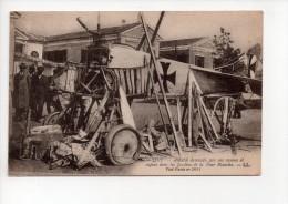 SALONIQUE - Aviatik Descendu Par Nos Canons Et Exposé Dans Les Jardins De La Tour Blanche (12) - 1914-1918: 1st War