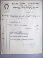 91 ,égly ,plaques à Souder Et Soudo Brasur Maurice Perrochon - France