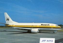 Avion De Ligne  MONARCH AIRLINES BOEING 737-300 - 1946-....: Moderne