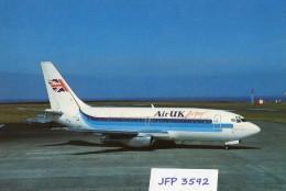 Avion De Ligne AIR UK LENSURE BOEING 737-200 - 1946-....: Moderne
