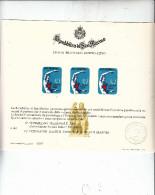 S.MARINO  1972 - Sassone 865 Riprodotto Su Cartoncino Ufficiale - Malattie Del Cuore - Erinnofilia