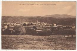 43 - RETOURNAC Vu Du Couchant - Retournac