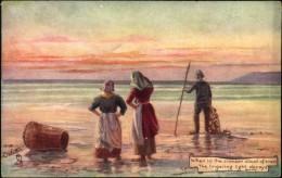 N°90 YY10-285 ILLUSTRATEUR RAPHAEL TUCK OILETTE SEA AND SKY WHEN IN THE CRIMSON CLOUD....N°9074 - Tuck, Raphael