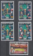 Dahomey    -   1974.  Calciatori, Coppa, Bandiere.Soccer Players, Cup, Flags. Complete MNH Rare Set - Coppa Del Mondo