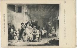 Jeu Du Pied De Boeuf 1830 Par Louis Boilly Peintre Né A La Bassée Estampe - Cartes Postales