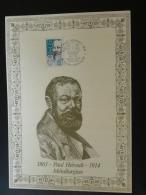 Métallurgie Paul Heroult Aluminium Thury Harcourt Calvados 1986 - Encart Feuillet Sur Soie AMIS - Folder Printed On Silk - Sciences