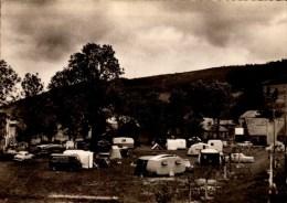 07-ST-CIRGUES EN MONTAGNE..TERRAIN DE CAMPING....CPSM GRAND FORMAT - France