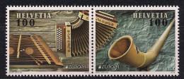 2014  Schweiz  Mi.  2349-0 **MNH Europa: Musikinstrumente - Unused Stamps