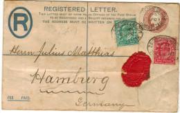 GB - Regno Unito - GREAT BRITAIN - UK - 1903 - Intero Postale - Entier Postal - Postal Stationery - Viaggiata Da Manc... - Interi Postali
