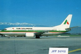 Avion De Ligne AIR ATLANTIS BOEING 737-382 - 1946-....: Moderne