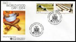 UNO WIEN 1984 - Welternährungstag - FDC - Ernährung