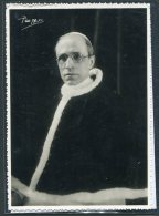 1954 VATICANO PAPA  PIO XII° CARTOLINA VIAGGIATA FOTOGRAFICA VIAGGIATA - Vatican
