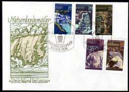 DDR 1977 - Naturdenkmäler / Steile Wand Bei Lossow - FDC - Sonstige