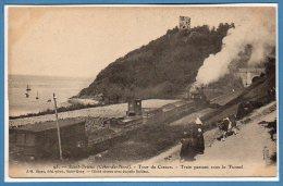 22 - SAINT BRIEUC -- Tour De Cesson - Train Passant Sous Le Tunnel - Saint-Brieuc