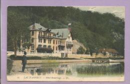 Dépt 74 -  Lac D'ANNECY - Hôtel Beaurivage - Colorisée - Petite Animation - Annecy
