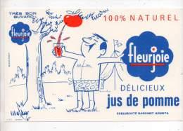 Buvard - Fleurjoie, Jus De Pomme, Exclusivité Bardinet Négrita - Buvards, Protège-cahiers Illustrés