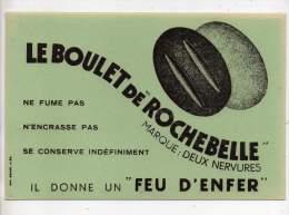 Buvard - Le Boulet De Rochebelle - Marque: Deux Nervures - Blotters